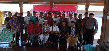 Rapat Pleno Perhitungan dan Penetapan Calon Perbekel Terpilih - Desa Bubunan