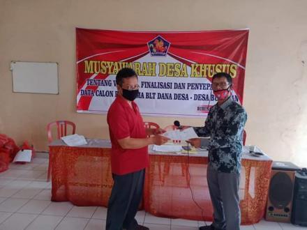 Musyawarah Desa Khusus - Validasi, Finalisasi dan Penyepakatan Daftar Keluarga Miskin Penerima Bantu